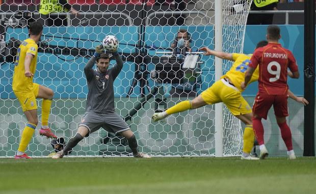 Euro 2020: Dwa rzuty karne obronione w meczu Ukraina - Macedonia Płn.