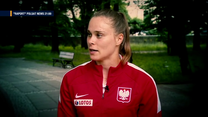 """Euro 2020. Ewa Pajor wierzy w naszych reprezentantów. """"W piłce nożnej wszystko jest możliwe"""" (POLSAT SPORT) Wideo"""