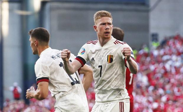 Euro 2020. Fenomenalny powrót De Bruyne, Belgia z awansem