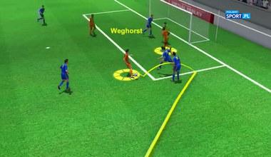 Euro 2020. Holandia - Ukraina. Animacja i analiza goli (POLSAT SPORT). Wideo