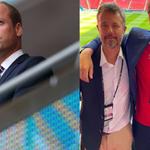 Euro 2020. Książę William spotkał się z duńską rodziną królewską na trybunach meczu Anglia-Dania