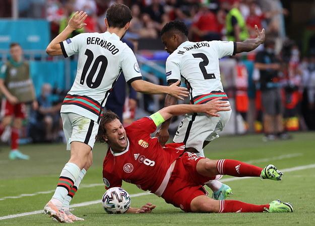 Euro 2020. Mecz Węgry - Portugalia /Bernadett Szabo / POOL /PAP/EPA