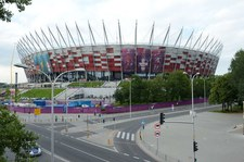 Euro 2020. Mecz z Hiszpanią w Strefie Kibica na Stadionie Narodowym