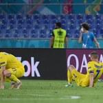 Euro 2020. Piłkarze Ukrainy mimo porażki z Anglią fetowani przez kibiców