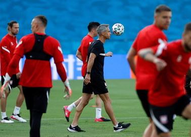Euro 2020. Sousa o meczu z Hiszpanią: Zbyt wielu zmian w składzie nie będzie