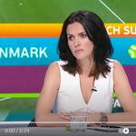 Euro 2020. Sylwia Dekiert zaliczyła wtopę po dramacie Eriksena. Teraz się tłumaczy