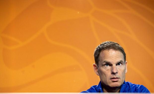Euro 2020: Trener Holendrów zmniejszył listę powołanych do 26 nazwisk
