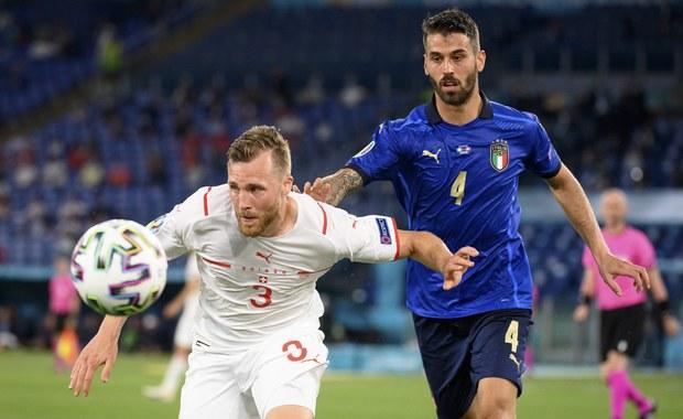 Euro 2020. Włosi wygrali ze Szwajcarią i są pewni awansu