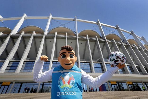 Euro 2021 (oficjalna nazwa Euro 2020) rozpoczyna się 11 czerwca /ROBERT GHEMENT /PAP/EPA