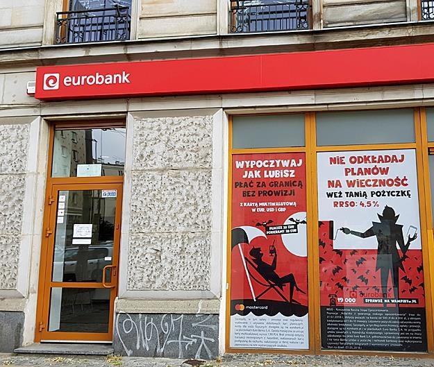Euro Bank znika z naszego kraju! Fot. Marcin Gocłowski REUTERS /FORUM