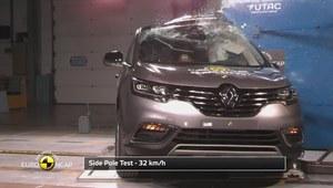 Euro NCAP Crash Test Renault Espace 2015