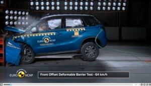 Euro NCAP Crash Test Suzuki Vitara 2015