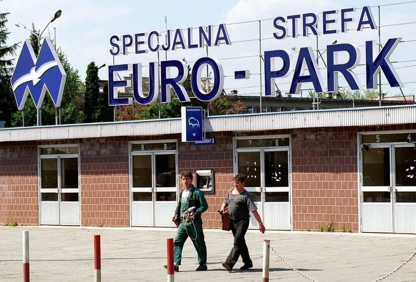 Euro Park Mielec dobrze się rozwija /Marcin Rutkiewicz /Reporter
