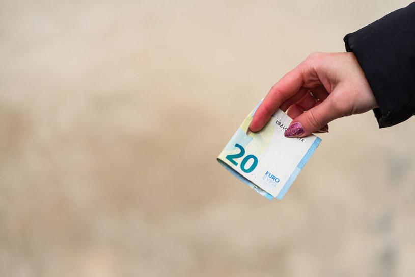Euro zyskuje względem dolara /123RF/PICSEL
