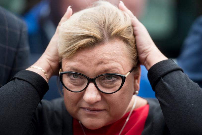 Eurodeputowana Beata Kempa /Lukasz Piecyk/REPORTER /Reporter