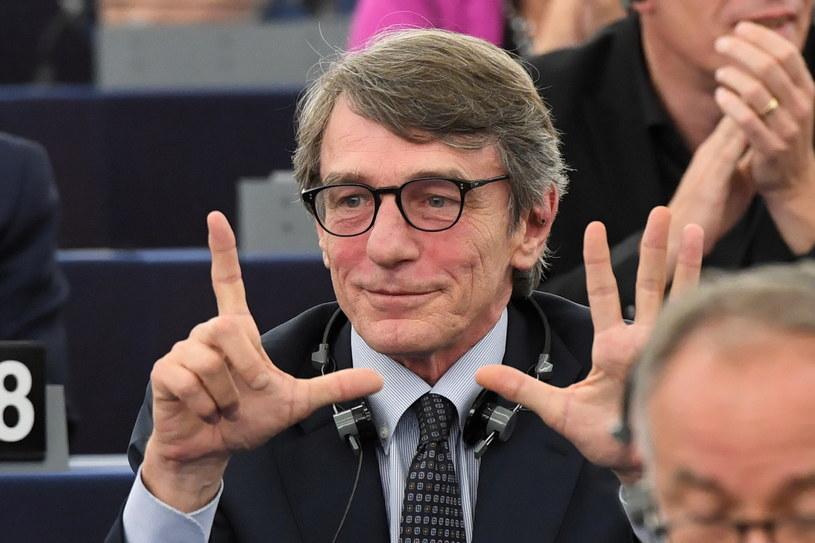 Eurodeputowany David Maria Sassoli /Radek  Pietruszka /PAP