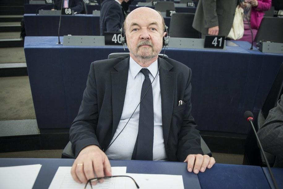 Eurodeputowany PiS Ryszard Legutko /Wiktor Dabkowski    /PAP