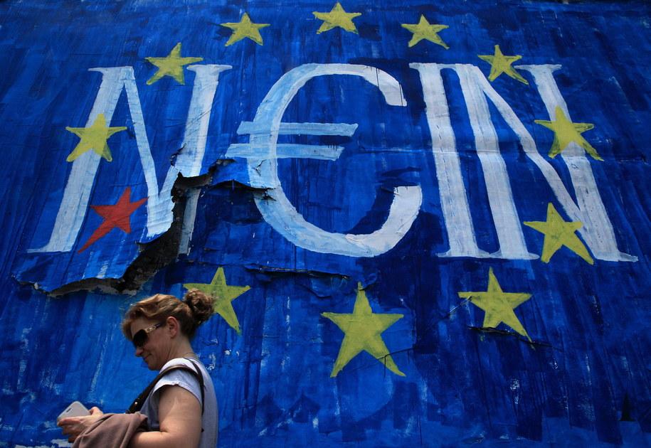 Eurogrupa odrzuciła propozycje Grecji /SIMELA PANTZARTZI  /PAP/EPA
