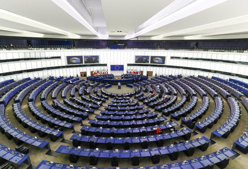 Europarlament przyjął rezolucję w sprawie Polski /JULIEN WARNAND / POOL /PAP/EPA