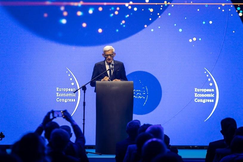 Europejski Kongres Gospodarczy 2021, Katowice. Inauguracja. /Fot. Ireneusz Rek /INTERIA.PL