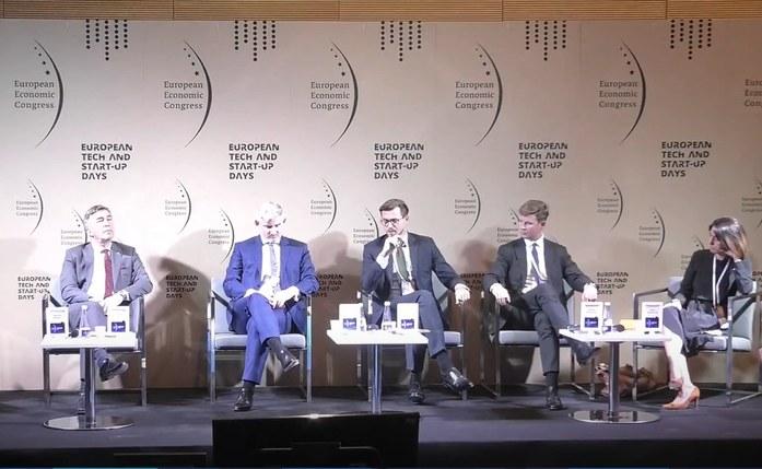 "Europejski Kongres Gospodarczy , debata ""Offshore – wiatr od morza"". /INTERIA.PL"