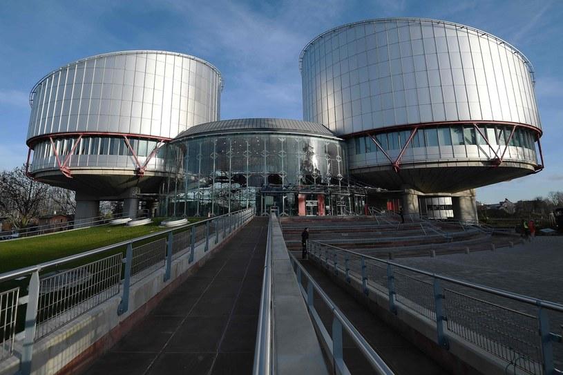Europejski Trybunał Praw Człowieka w Strasburgu /AFP