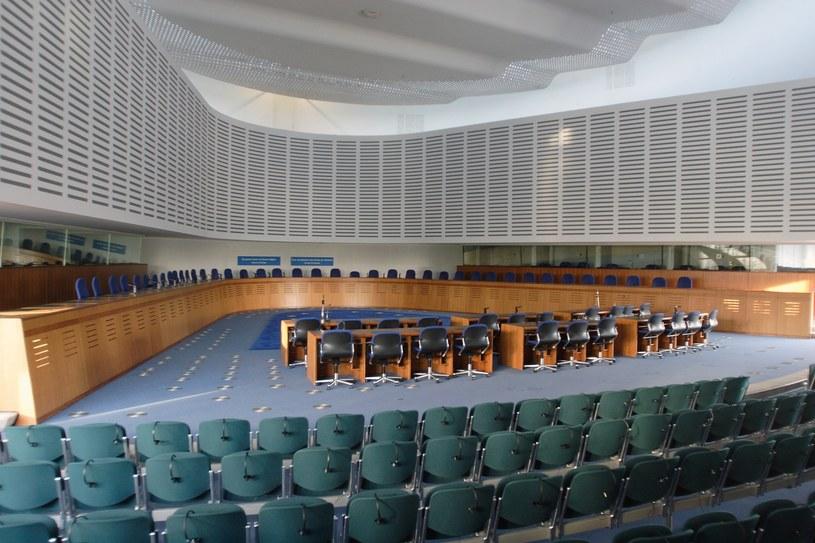 Europejski Trybunał Praw Człowieka /ENRYK PRZONDZIONO /Agencja FORUM
