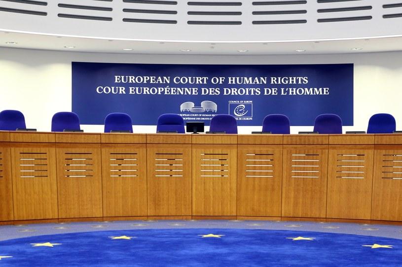 Europejski Trybunał Praw Człowieka /STANISLAW KOWALCZUK /East News