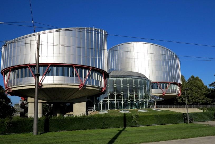 Europejski Trybunał Praw Człowieka /Leon Stankiewicz /Reporter