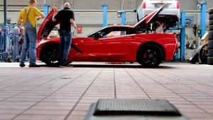 Europejskie testy Corvette Stingray