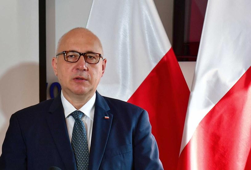 Europoseł Joachim Brudziński / Marcin Bielecki    /PAP