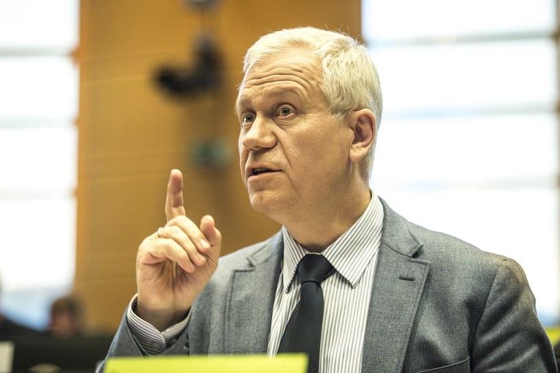 Europoseł Marek Jurek /Wiktor Dabkowski    /East News