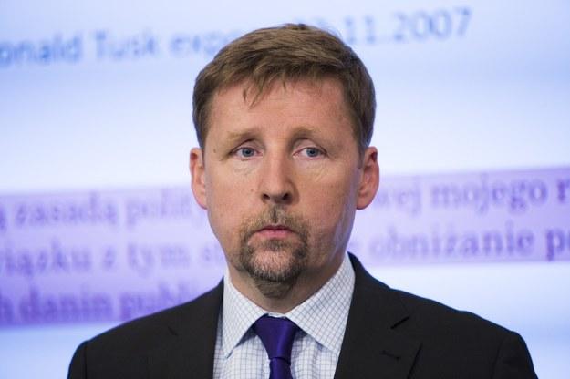 Europoseł Marek Migalski. /Andrzej Hulimka  /Reporter