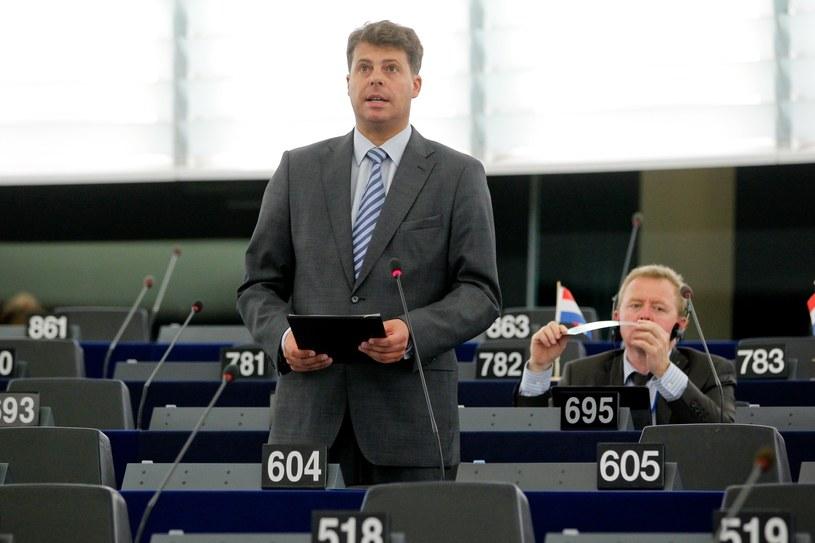 Europoseł Mirosław Piotrowski /East News