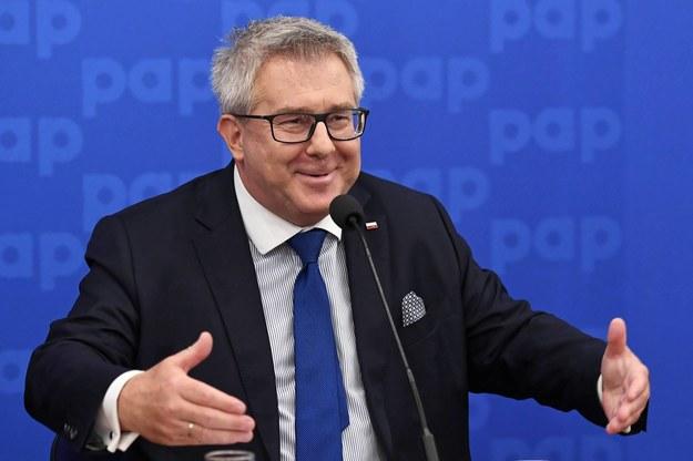 Europoseł PiS Ryszard Czarnecki / Radek Pietruszka   /PAP