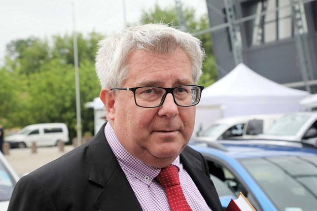 Europoseł PiS Ryszard Czarnecki /Wojciech Olkuśnik /PAP
