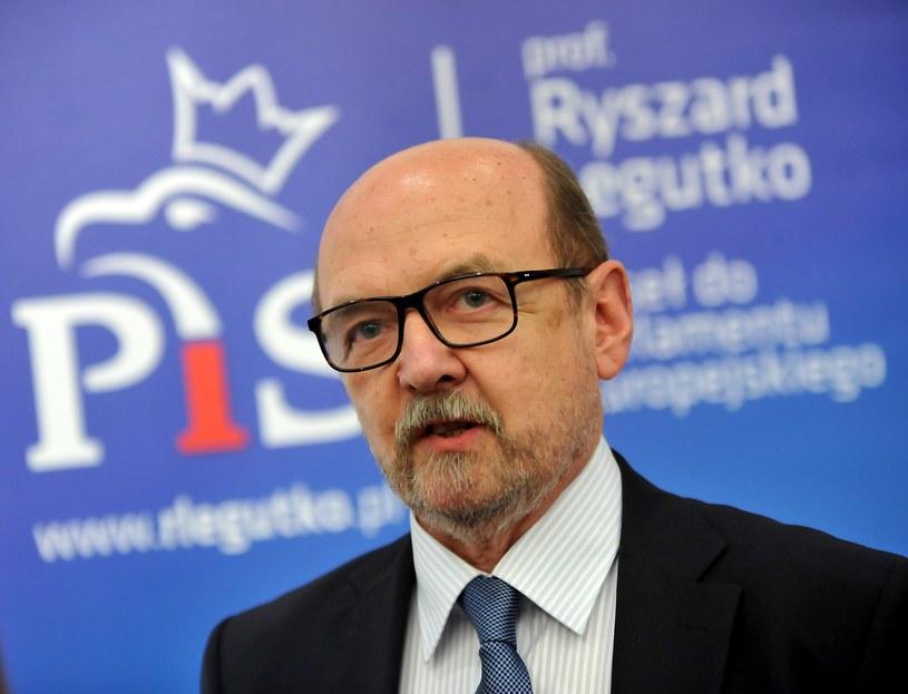 Europoseł PiS Ryszard Legutko /Marek Lasyk  /East News