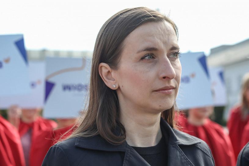 Europosłanka Sylwia Spurek /fot. Andrzej Iwanczuk /Reporter