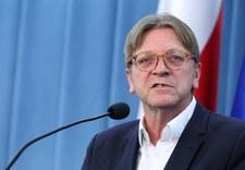 Europosłowie PiS reagują na list Verhofstadta do Timmermansa