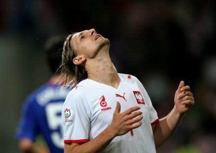 Euzebiusz Smolarek może odetchnąć z ulgą. Znalazł klub. /AFP