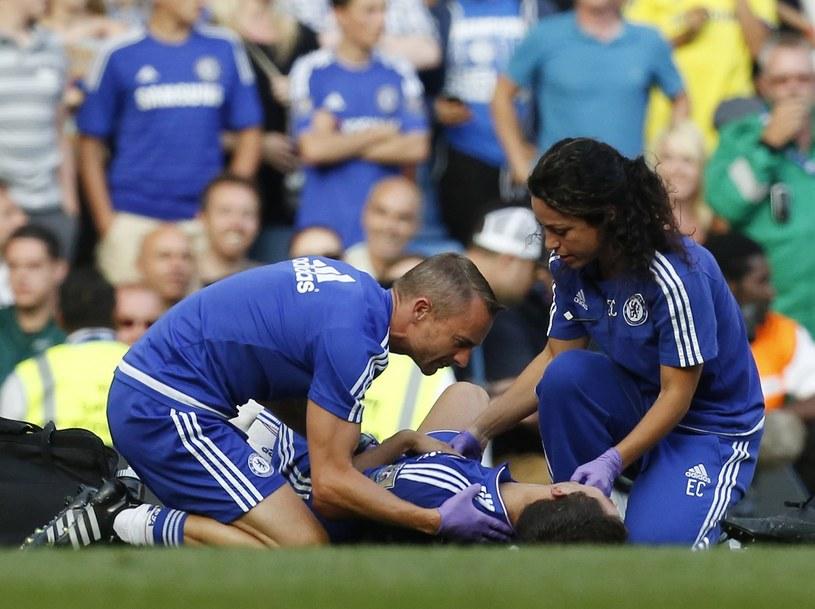 Eva Carneiro przez lata pomagała zawodnikom Chelsea /AFP