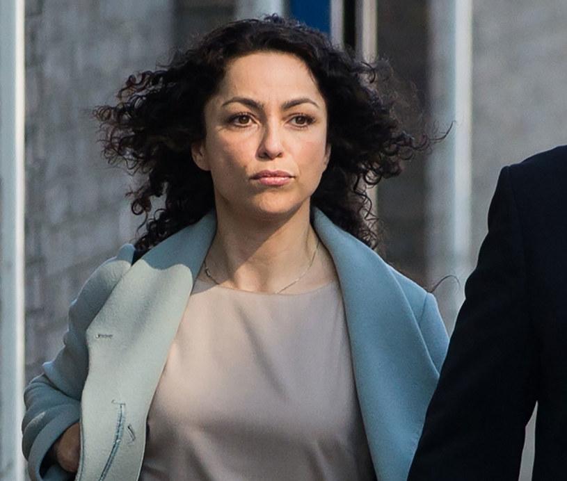 Eva Carneiro w drodze do sądu /AFP