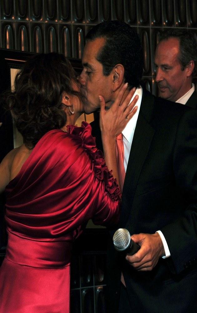 Eva Longoria, Antonio Villaraigosa /Alberto E. Rodriguez /Getty Images