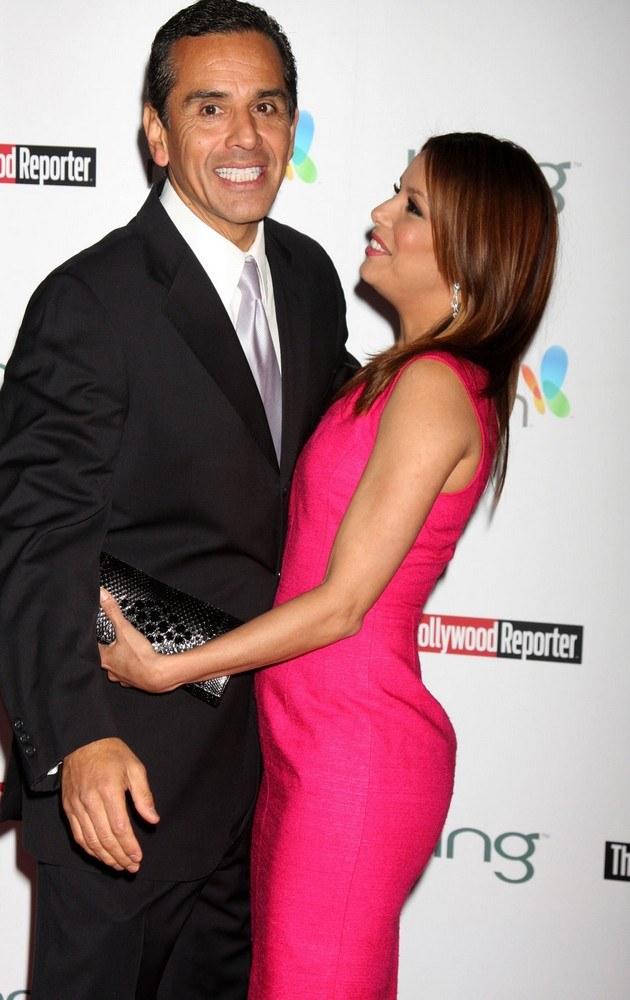Eva Longoria, Antonio Villaraigosa /Craig Barritt /Getty Images