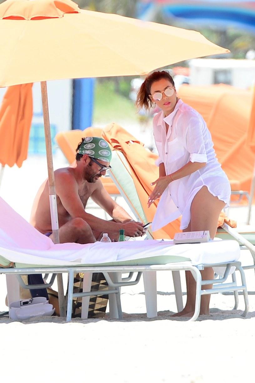 Eva Longoria i Antonio Baston /East News