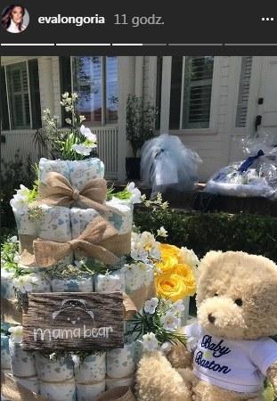 Eva Longoria pochwaliła się prezentami, jakie otrzymała podczas Baby shower /Instagram /materiał zewnętrzny