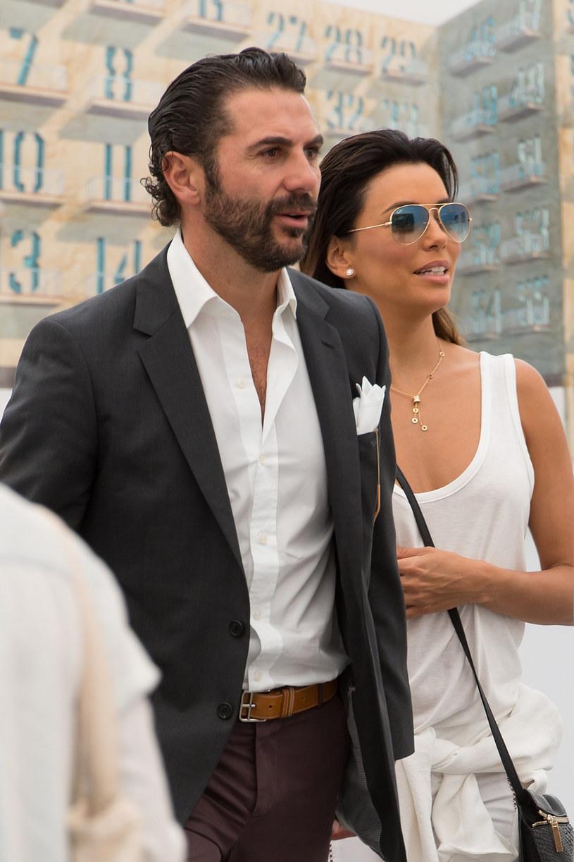 Eva Longoria z mężem, Jose Bastonem /Michael Stewart /Getty Images