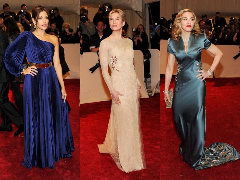 Eva Mednes, Renee Zellweger i Madonna  /Getty Images/Flash Press Media