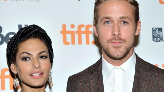 Eva Mendes i Ryan Gosling - para w życiu prywatnym i zawodowym / fot. Sonia Recchia /Getty Images/Flash Press Media