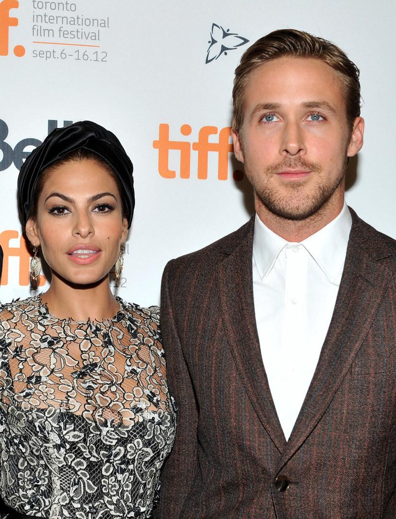 Eva Mendes i Ryan Gosling /Sonia Recchia /Getty Images